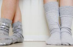 Socks, socks, & more socks!  A tute with various ways to make socks.