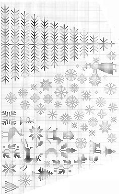567 Best Christmas Stocking: Patterns Charts Graphs images