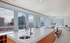 Stylish kitchen island