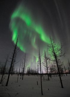 New Aurora Pictures: Solar Storms Trigger Northern Lights