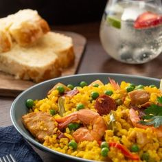 Grains, Curry, Ethnic Recipes, Food, Seafood Paella, Recipes With Vegetables, Meals, Deserts, Curries