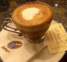 Marocchino - Caffe Roberto, Turin/Torino, Italy! this makes my heart SING!!!!