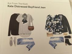 Love these jeans! Would love the distressed jeans since I already own a pair of the dark washed Kate jeans.