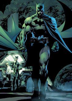 Batman: Hush by Jeph Loeb and Jim Lee Jim Lee Batman, Batman Hush, I Am Batman, Batman And Catwoman, Lego Batman, Batgirl, Batman Batmobile, Batman Logo, Lego Lego