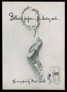 1947-ballet-dance-dancer-shoes-photo-Marie-Earle-Ballerina-perfume-vintage-ad