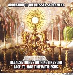 Catholic teaching: Since transubstantiation occurs, the person taking the Eucharist is truly with Jesus and is remembering him. The Eucharist is a special sacrament for Catholics and brings them closer to Jesus.