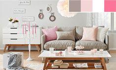 Verliebt in Valentin - Farbberatung - alles rund um die Farben Rosa, Weiß und Braun ...mehr unter blog.moemax.at