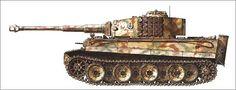 Tiger I, sPzAbt.509, Russia, 1943.