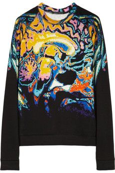 Christopher Kane Printed cotton sweatshirt | NET-A-PORTER £237 - 167