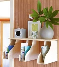 Would be Great mail  and Bill sorter!! magazine holder ideas