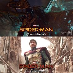 The two big villains 😈🔥 The Vulture's suit is pretty cool, menacing, loved that he made it with Chitauri's tech and everything but… Marvel Villains, Mcu Marvel, Marvel Heroes, All Avengers Movies, Marvel Movies, Spiderman Homecoming Vulture, Sipder Man, Vulture Marvel, Mcu Timeline