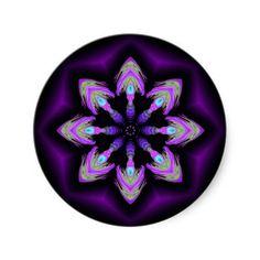 When Alien Onions Attain  Stickers from Bill M. Tracer Studio: http://www.zazzle.com/when_alien_onions_attain_stickers-217998405795389262 #art #abstract #postmodern #contemporary #stickers