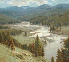 """Little Black Rock Creek"" by Scott Christensen"