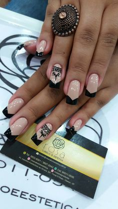 Great Nails, Fabulous Nails, My Nails, Finger, Easy Nail Art, Nail Arts, Nail Tech, Pedicure, Nail Designs