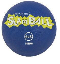Champion Sports Rhino Slam Medicine Balls, 6-Pound
