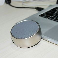 BS-01 Mini Portable Metal Casing HiFi Bluetooth Speaker for Mobile Phone  Specifications: *Bluetooth: V3.1+EDR *Distance: ≤10m *Speaker: 3W  *Frequency: 80Hz – 20KHz *Sensitivity: 110dB+/-3dB *Battery: Built-in lithium *Charge: ≤3h, DC 5V *Support: Handfree for calls, SD/TF card, AUX *Unit size: 78x78x34mm  Pattern: Gold, silver, shiny nickel or custom Logo option: Silk screen, laser engraved, transfer printing or moulded  Model #: BS057 Wholesale MOQ: 20pcs OEM MOQ: 500pcs