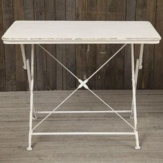 Metal Folding Table | Vintage Folding Table