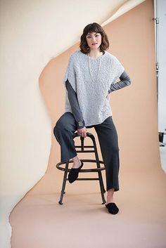 Ravelry: #17 Bouclé Pullover pattern by Rebecca Kevelson