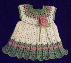 Crochet Baby Dress | Arts, Crafts