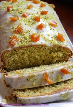 Cold weather means comfort food & comfort food means cake - a Pistachio and Orange Blossom Cake!