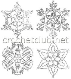 Transcendent Crochet a Solid Granny Square Ideas. Inconceivable Crochet a Solid Granny Square Ideas. Crochet Snowflake Pattern, Crochet Stars, Crochet Snowflakes, Granny Square Crochet Pattern, Crochet Diagram, Christmas Snowflakes, Crochet Motif, Crochet Doilies, Crochet Flowers
