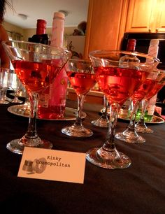 Fifty Shades of Grey party drink http://bellacparties.blogspot.com/2014/07/fifty-shades-of-grey-party_24.html