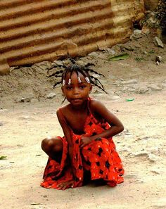 Africa Love this little girl.