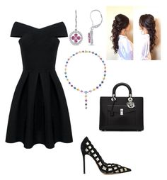 """Untitled #302"" by lovelifesdreams on Polyvore featuring Gianvito Rossi, Bayco, Amour and Christian Dior"