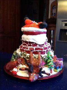 Cake christmas pinterest salt