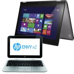Hybrids like the HP Envy x2 and Lenovo IdeaPad Yoga are half tablet, half laptop. The best of both worlds?