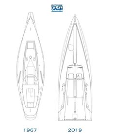 Yacht Design, Boat Design, Sailing Ships, Sailing Yachts, Sailboat Plans, Small Sailboats, Yacht Cruises, Boat Projects, Cool Boats