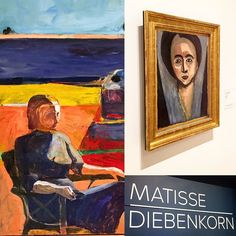captivating show @sfmoma preview for #diebenkorn #matisse #painting #sanfrancisco #berkeley #art #finearts #museum #culture #arts