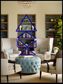 Bergere Chair: The ABC's of arranging shelves