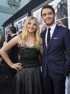 "Chloe Moretz and Jamie Blackley – ""If I Stay"" Premiere in LA"