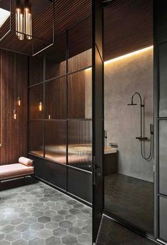 60 awesome open bathroom concept for master bedrooms decor ideas Open Bathroom, Modern Master Bathroom, Bathroom Interior, Diy Interior, Bad Inspiration, Bathroom Inspiration, Interior Inspiration, Toilette Design, Scandinavian Home