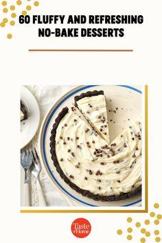 You'll own summer menus when these easy desserts pop up after dinner. No Bake Desserts, Easy Desserts, Dessert Recipes, Menu, Pop, Baking, Dinner, Summer, Menu Board Design