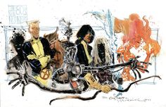 Bill Sienkiewicz - The New Mutants, in Constant N's Bill Sienkiewicz Comic Art Gallery Room Marvel Comics Art, Marvel Comic Universe, Marvel X, Marvel Heroes, Comic Book Characters, Comic Books Art, Book Art, Marvel Characters, X Men