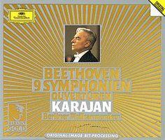 BEETHOVEN 9 Symphonien 1982-1985 - Karajan -  Deutsche Grammophon