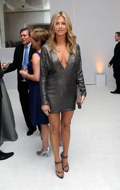 Jennifer Aniston sparkles in silver at Elle's 18th Annual Women in Hollywood Tribute held at the Four Seasons Hotel on Monday (October 17) in Beverly Hills, Calif. Description from justjared.com. I searched for this on bing.com/images