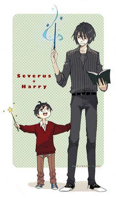 Sev and Harry by demitasse-lover.deviantart.com on @DeviantArt