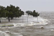 Hurricane attack on US coast