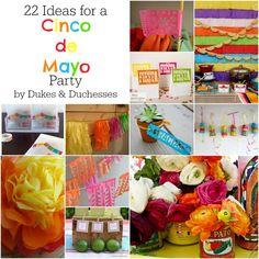 22 ideas for a cinco de mayo party