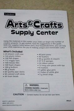 Gearing Up for the Holidays With the Lakeshore Learning Arts & Crafts Supply Center {Review} (& Giveaway Ends 12/15)