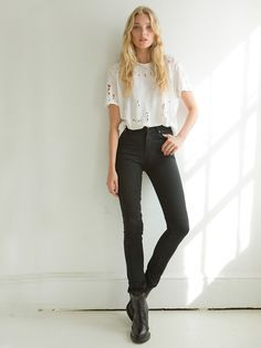 Noticed: A Skinny Belt and High-Rise Jeans | High rise jeans ...