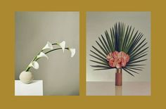 Floral designer Marisa Competello of Meta Flora in New York City and photographer Hanna Tveite.