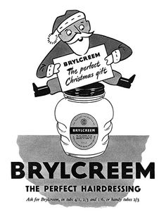"gameraboy: "" 1953 Brylcreem ad by totallymystified on Flickr. "" I'm a Dapper Dan Man…"