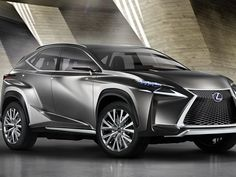 """Lexus takes its the signature Lexus """"spindle"""" grille to an extreme"""