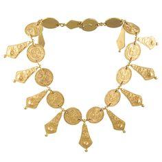 Genny    Etruscan  Revival Necklace