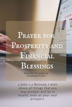 Success Prayers for Prosperity and Financial Blessings Prayer Times, Prayer Scriptures, Bible Prayers, Catholic Prayers, Faith Prayer, Novena Prayers, Prayer For Financial Help, Prayer For Finances, Financial Prayers
