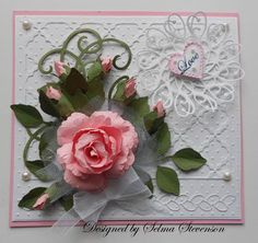 When I  posted a card with a rose and rose bud a few days ago, a lot of you told me you would love to have a tutorial on how to...